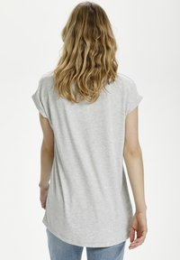Kaffe - BPGITTA  - T-shirts print - light blue / midnight flower - 2
