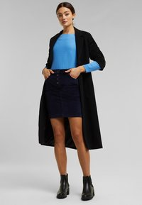 Esprit - PENCIL SKIRT - Pencil skirt - navy - 1