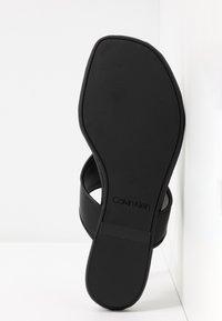 Calvin Klein - SABRE - Varvassandaalit - black - 5