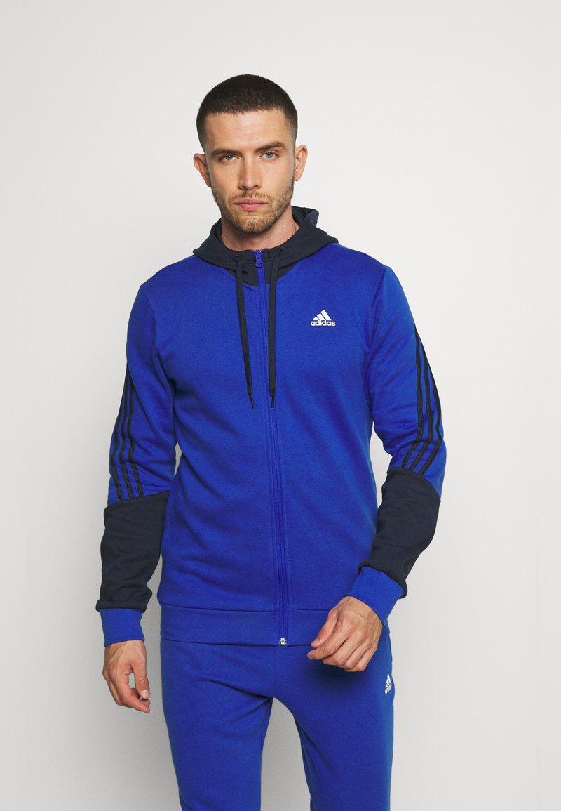 adidas Performance - TRACKSUITS - Träningsset - bold blue/legend ink