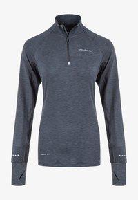 Endurance - CANNA  - Sports shirt - 1111 black melange - 4