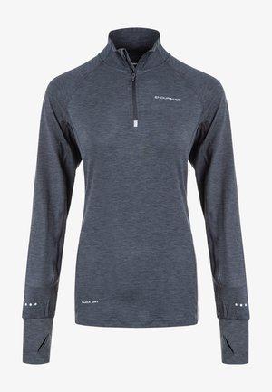 FUNKTIONSSHIRT CANNA V2 PERFORMANCE - Sports shirt - 1111 black melange