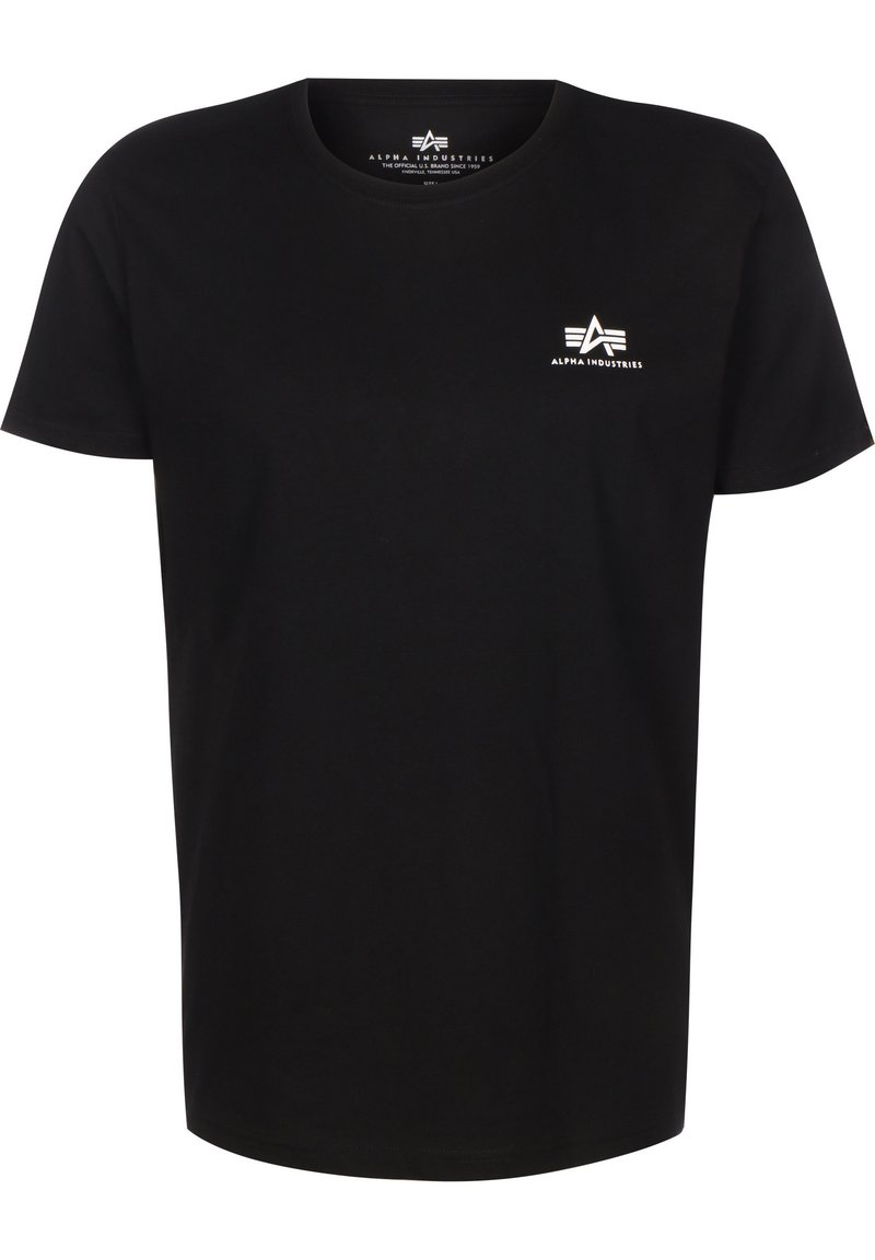 Alpha Industries - T-shirt med print - black