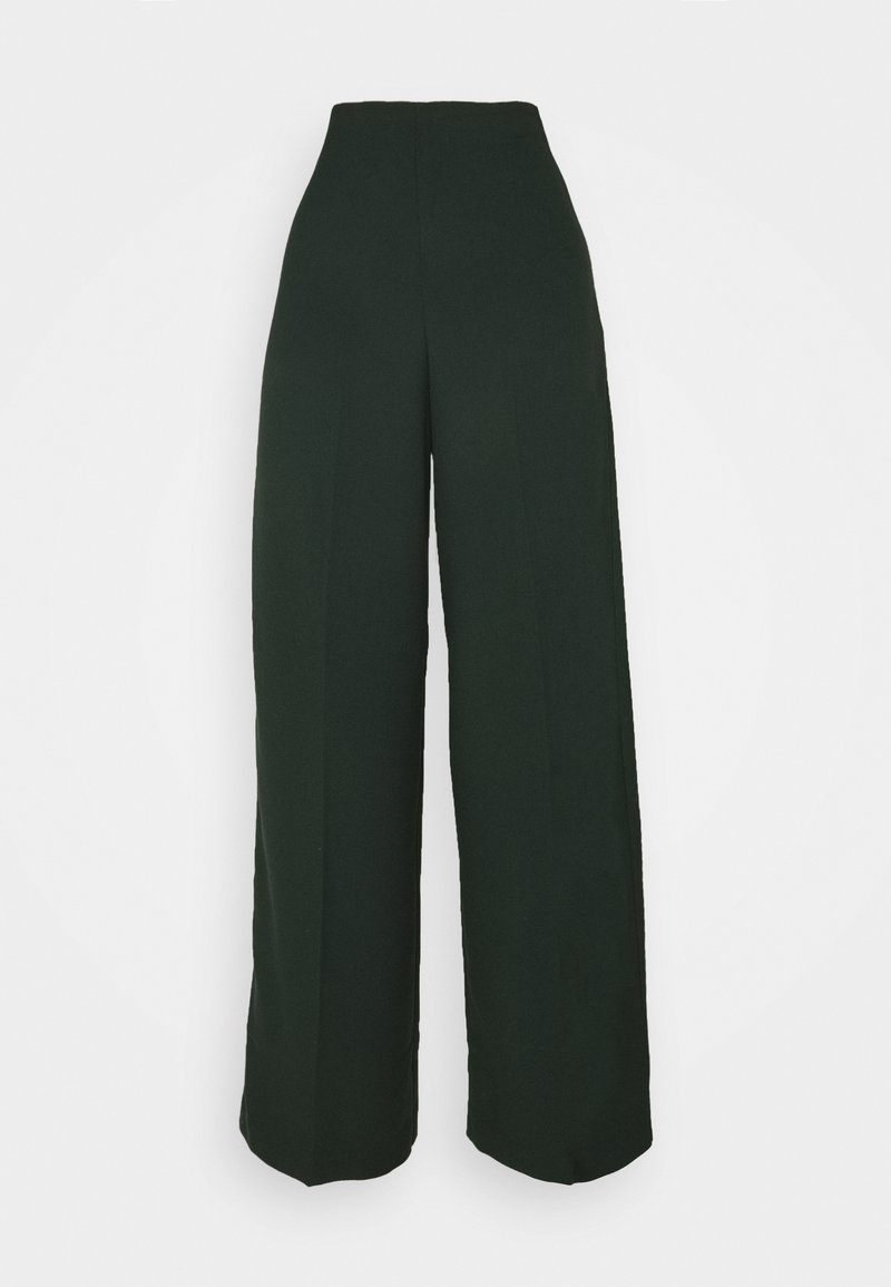 Weekday - JULIA TROUSER - Bukse - bottle green