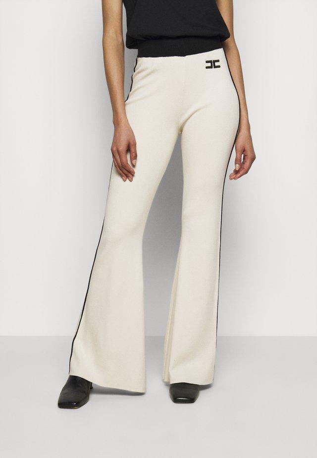Pantaloni - burro/nero
