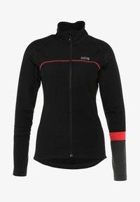 Gore Wear - THERMO  - Training jacket - black/terra grey - 5