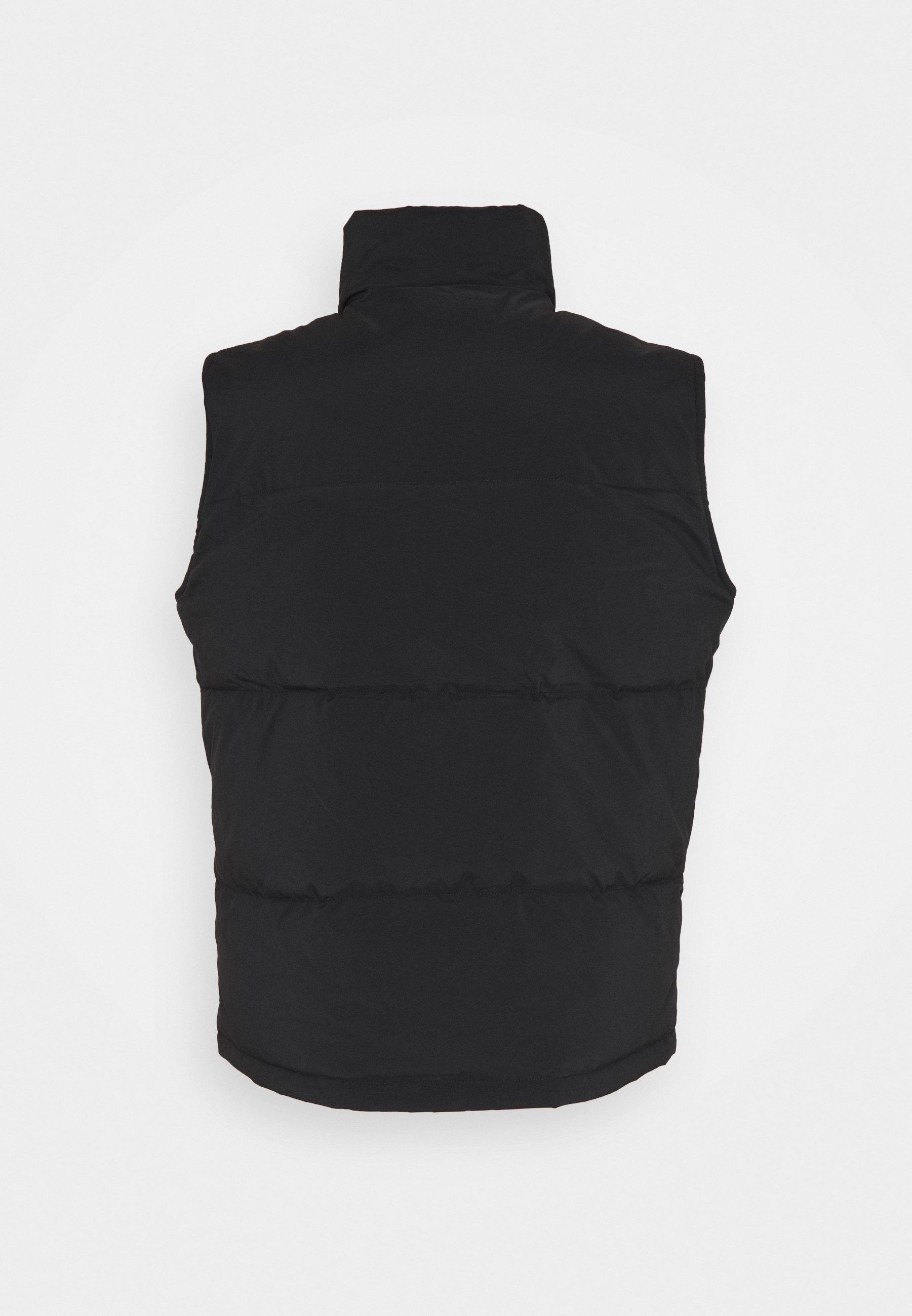 Topman FUJI GILET - Vest - black