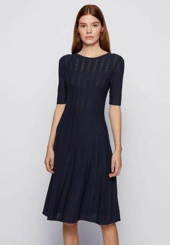 Jumper dress - open blue