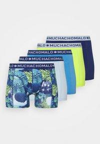 MUCHACHOMALO - OCEAN 5 PACK - Boxerky - dark blue/green - 5