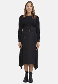 Fiorella Rubino - A-line skirt - nero - 1