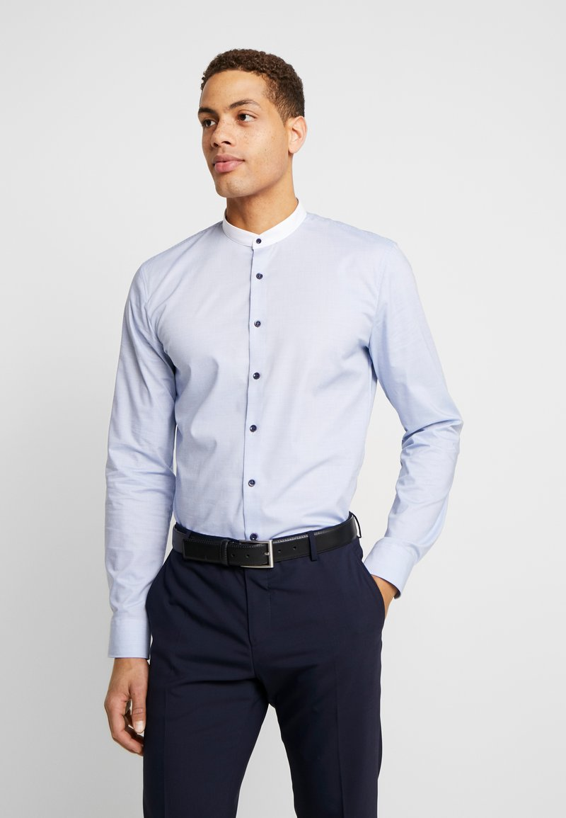OLYMP - OLYMP NO.6 SUPER SLIM FIT  - Shirt - royal