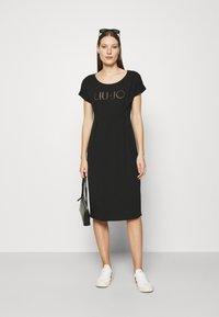 Liu Jo Jeans - ABITO - Jersey dress - nero - 1