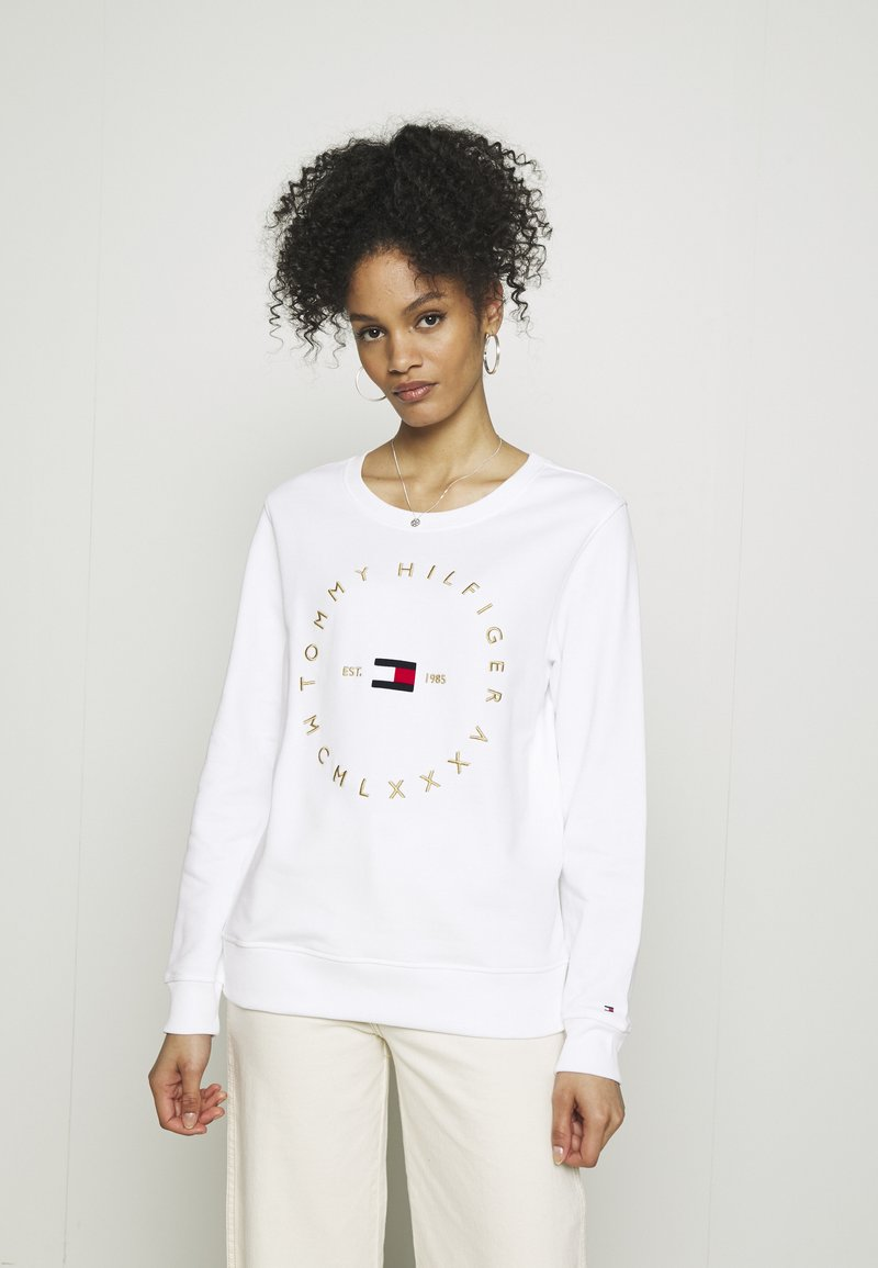 Tommy Hilfiger - REGULAR CIRCLE  - Sweatshirt - white
