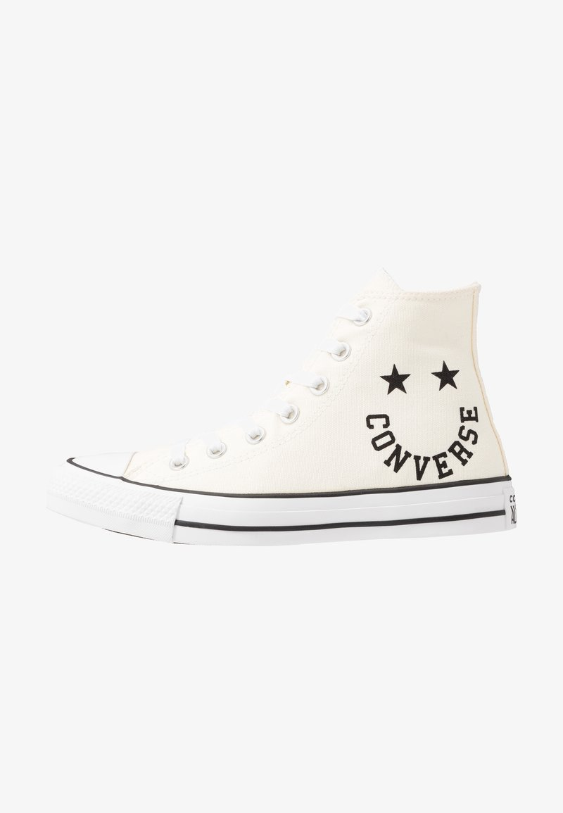 Converse - CHUCK TAYLOR ALL STAR  - Höga sneakers - egret/black/white