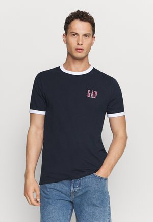 LOGO RINGER  - T-shirt z nadrukiem - new classic navy
