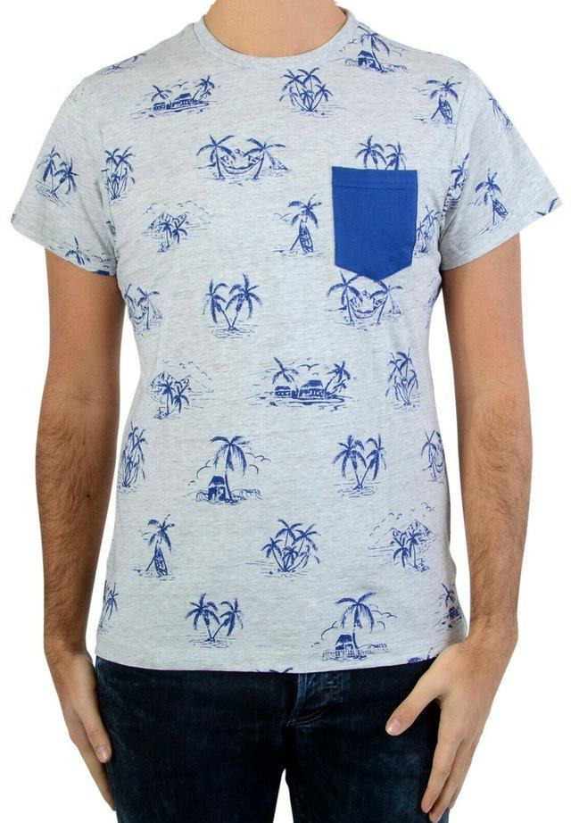 WILTON  - T-shirt imprimé - grey