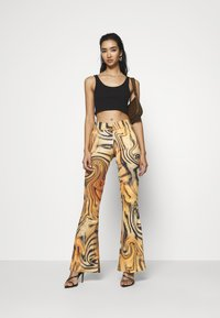Jaded London - FRONT BOOTCUT TROUSER TIGER SWIRL - Pantalones - multi - 1