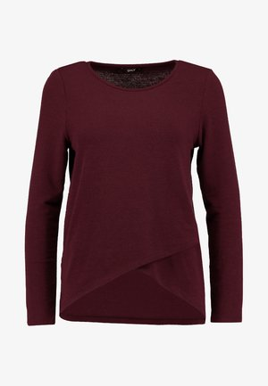 ONLSONJA MIDA WRAP - Long sleeved top - port royale