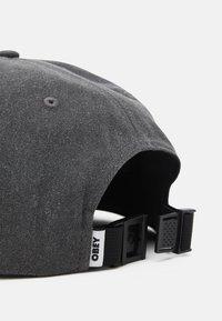 Obey Clothing - PIGMENT PANEL STRAPBACK UNISEX - Cap - black - 4