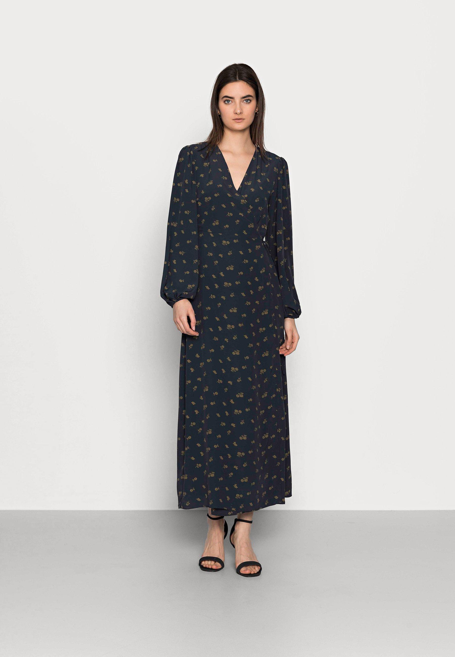 Donna LADIES DRESS ROSE - Vestito lungo - olive