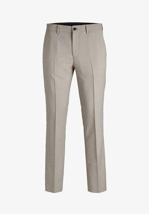 JPRSOLARIS  - Suit trousers - beige