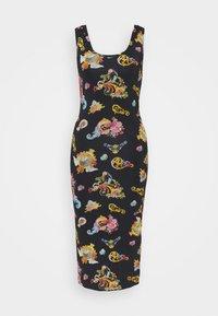 Versace Jeans Couture - LADY DRESS - Vestito di maglina - black - 5