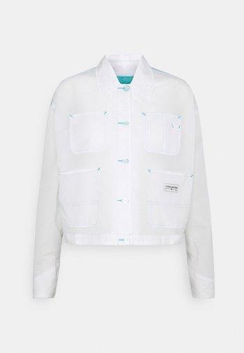 SHEER UTILITY JACKET - Summer jacket - white