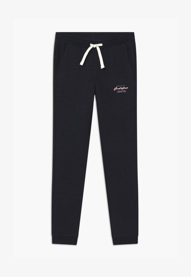 JJIWILL JJSTATION - Tracksuit bottoms - navy blazer