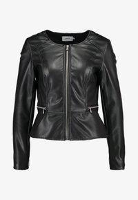 ONLY - ONLNEWMONA JACKET - Faux leather jacket - black - 4