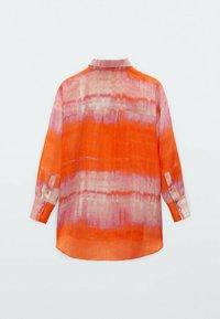 Massimo Dutti - REINEM RAMIE - Button-down blouse - red - 1