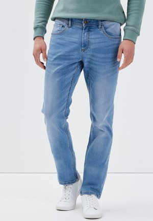 Straight leg jeans - denim used