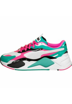 Trainers - white-fluo pink