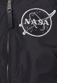 Alpha Industries - NASA REVERSIBLE  - Bomber Jacket - black