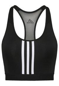 adidas Performance - Urheiluliivit: keskitason tuki - black/white - 6