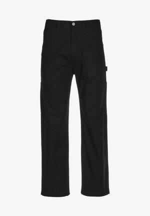 Straight leg jeans - jet black
