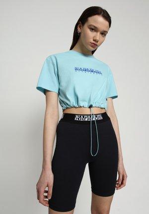 S BEATNIK - Print T-shirt - blue