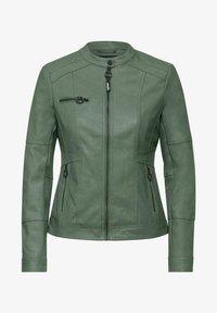 Cecil - Faux leather jacket - grün - 3