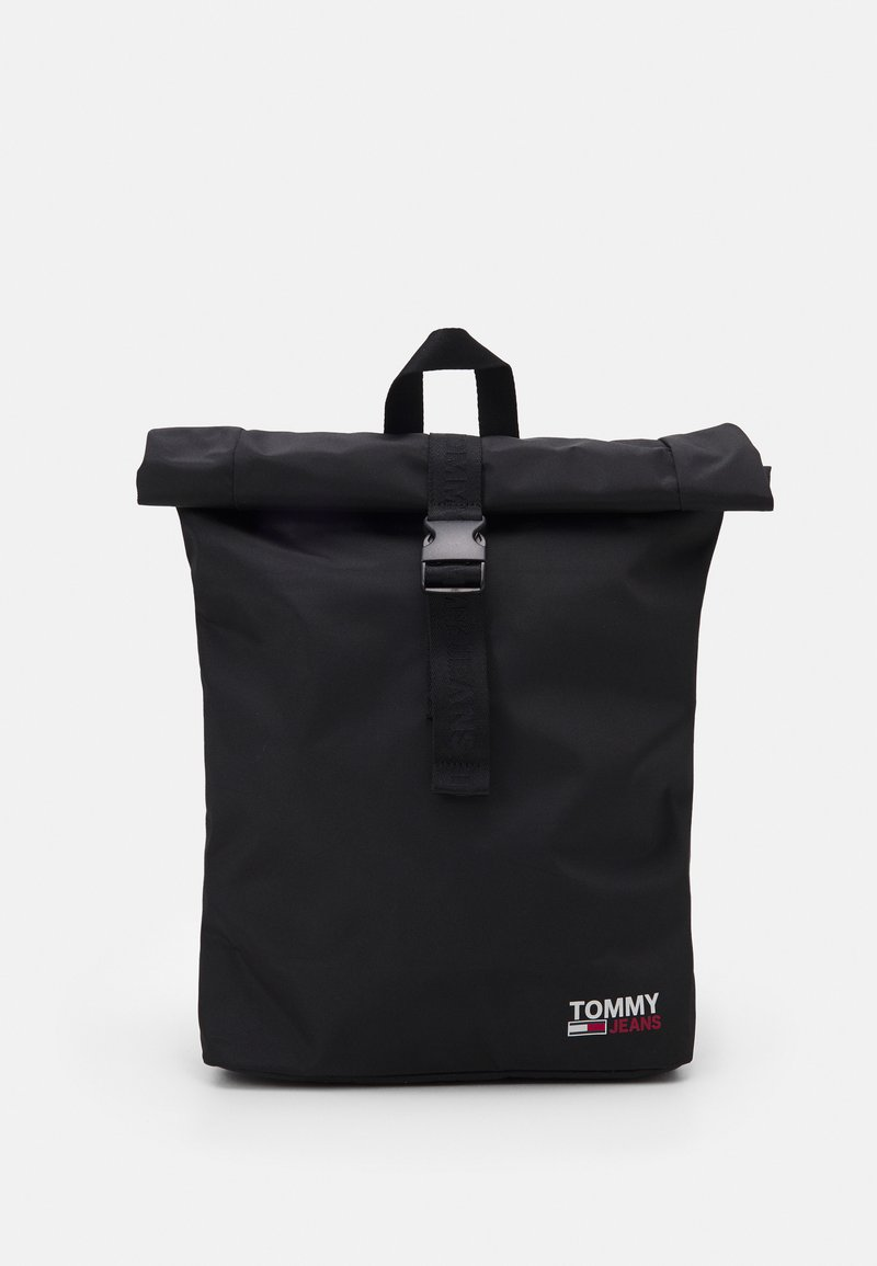 Tommy Jeans - CAMPUSROLL BACKPACK - Rucksack - black