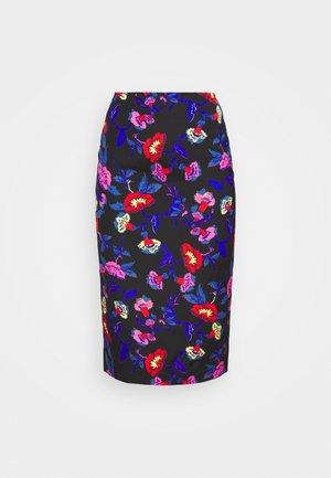 KARA SKIRT - Pencil skirt - medium black