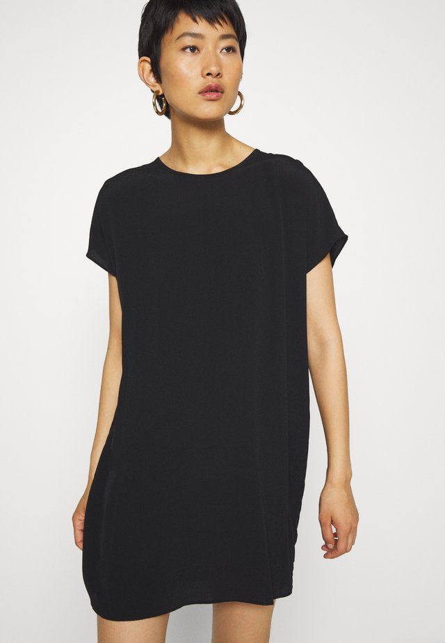 BUTTON BACK EASY DRESS - Day dress - true black
