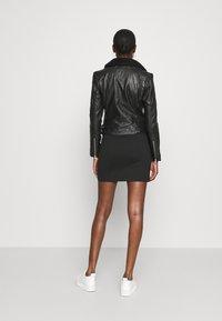 Calvin Klein Jeans - Leather jacket - black - 2