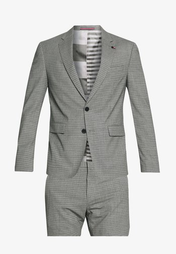 FLEX MINI CHECK SLIM FIT SUIT