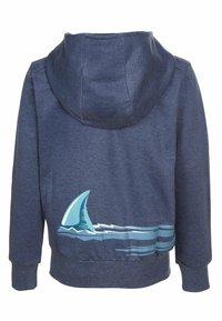 Elkline - Zip-up sweatshirt - bluemelange - 2