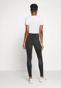 Dr.Denim - LEXY - Jeans Skinny Fit - off black destroy - 2