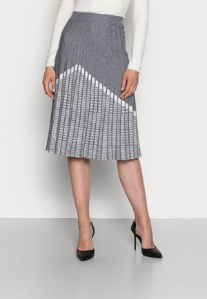 CABARET - Áčková sukně - gris