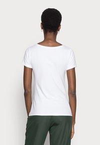 Anna Field - 2 PACK - Basic T-shirt - white/black - 2