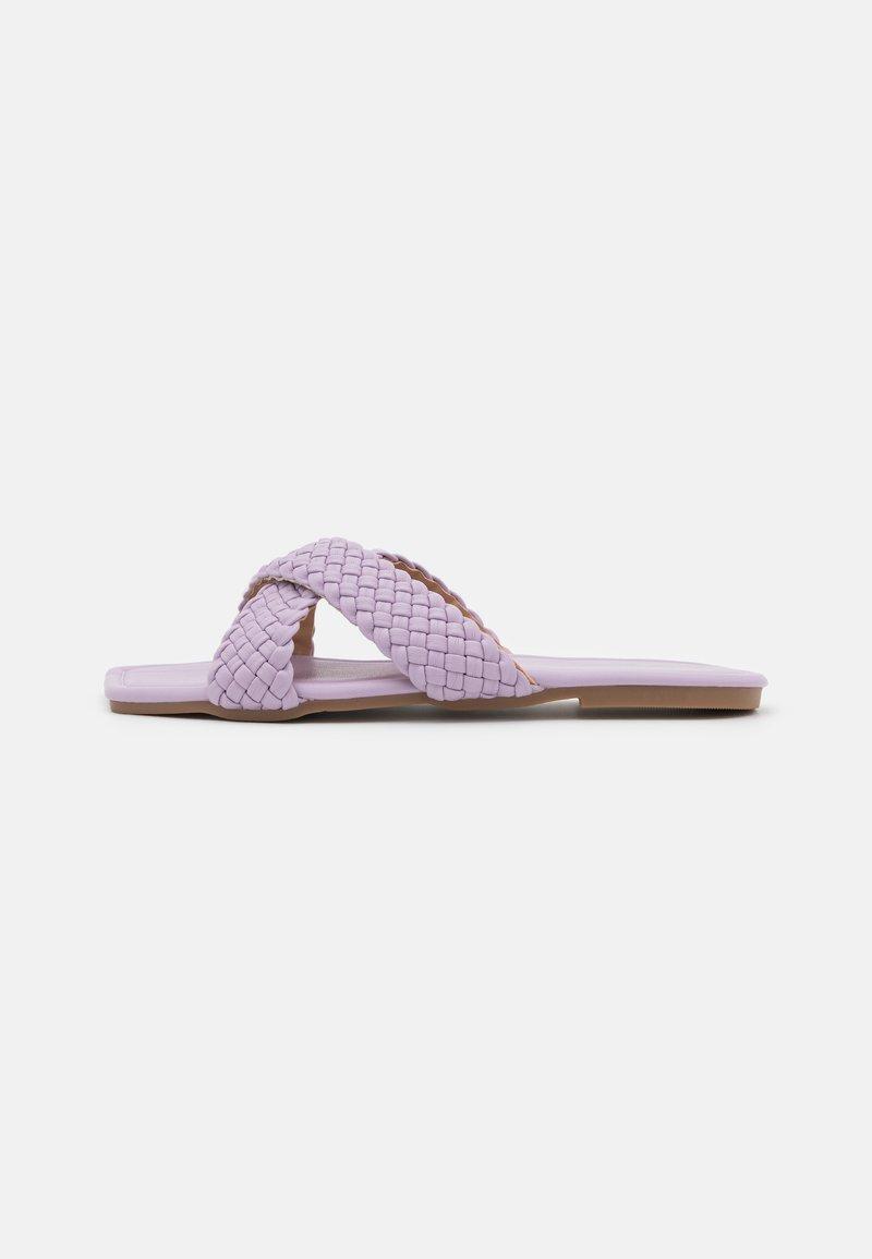 Koi Footwear - VEGAN ANKA BRAIDED SLIDERS - Mules - purple