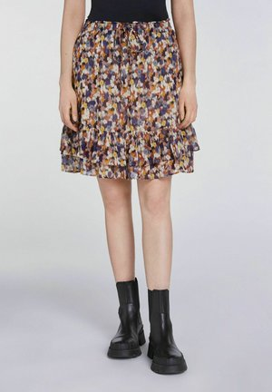A-line skirt - rose violett