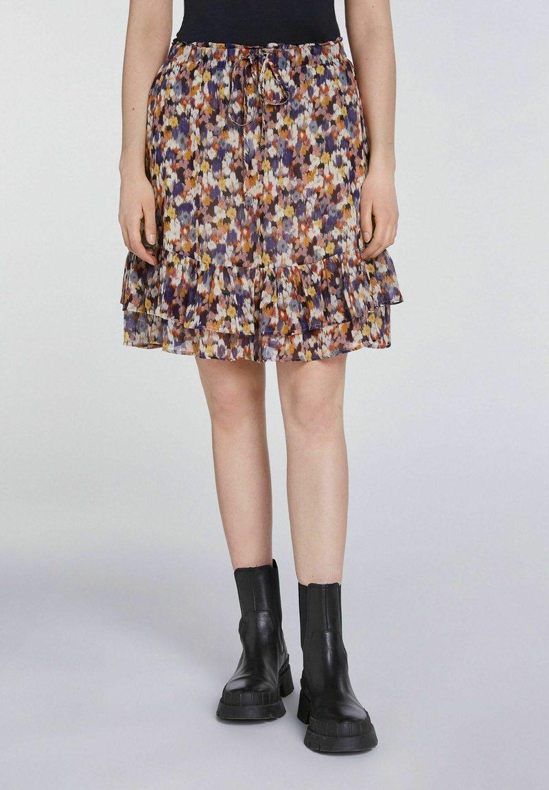 SET - A-line skirt - rose violett