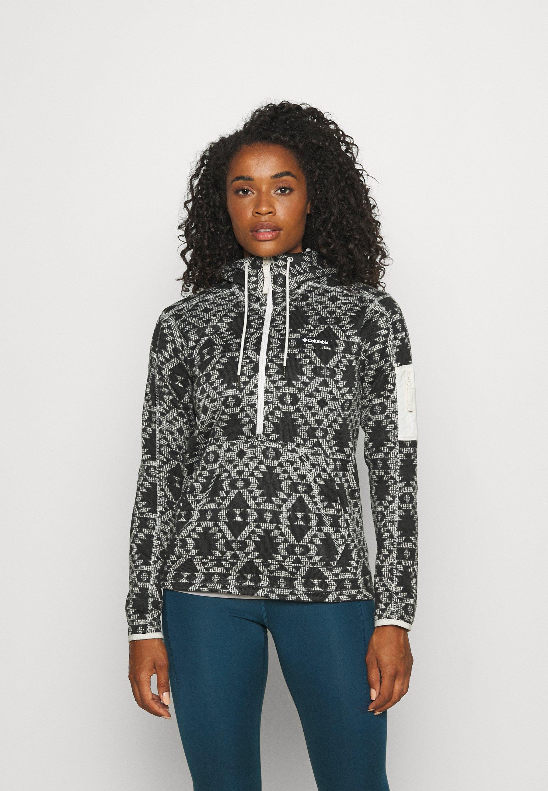 Women WEATHER™ HOODED - Fleece jumper